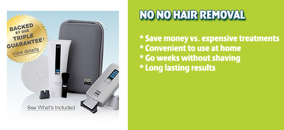 The No No Hair Removal System Review