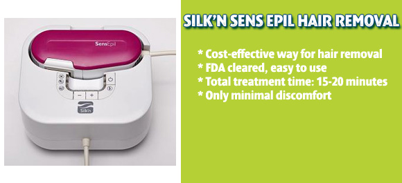 Silk׳n SensEpil Hair Removal Product